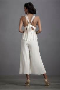 the biggest wedding trend for 2014 the jumpsuit