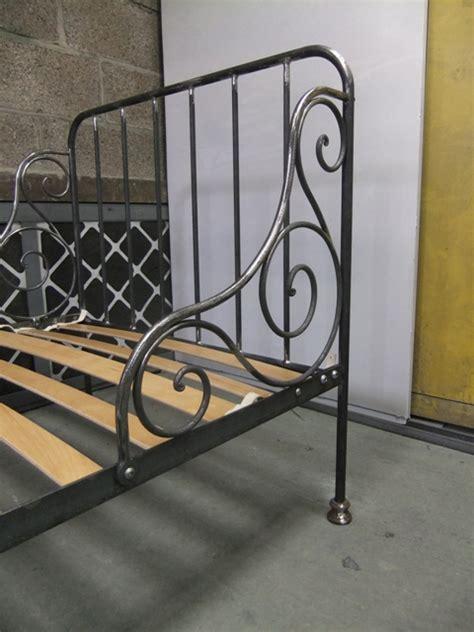 Wrought Iron Single Bed Frame Wrought Iron Single Bed Ironart Of Bath