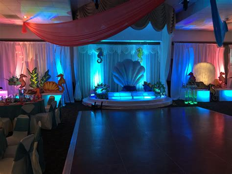 quinceanera themes under the sea nautical under the sea quinceanera stage infinity sound