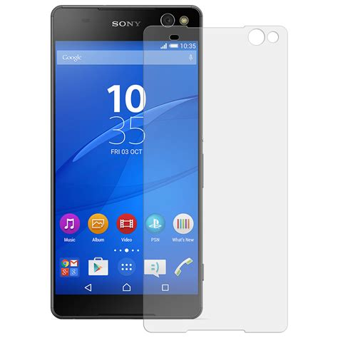 9h tempered glass screen protector sony xperia c5 ultra