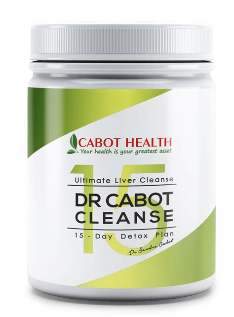 Cabot Liver Detox by Dr Cabot Cleanse Complete Cleanse