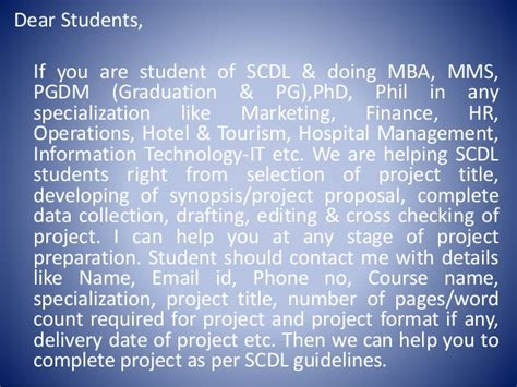 Which Mba Specialization Is Best For Me by Mba Project Report Consultancy To The Students Of Scdl