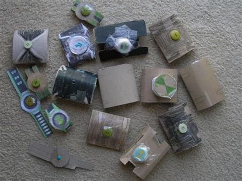 How To Make A Paper Omnitrix - ideas for ben 10 omnitrix paper watches with the lil