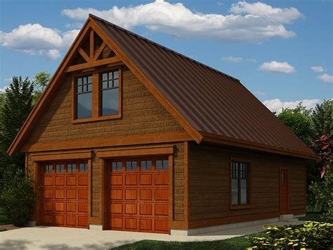 Cabin Plans With Garage by Detached Garage Plans With Loft Garage Plans With Loft