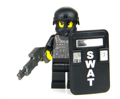 Lego Minifigure Beachgoer Windsurfer 1 custom lego r swat officer minifigure with riot
