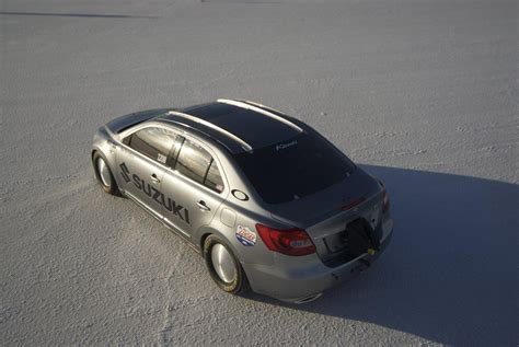 Suzuki Kizashi Modified Modified Suzuki Kizashi Breaks Land Speed Record Picture