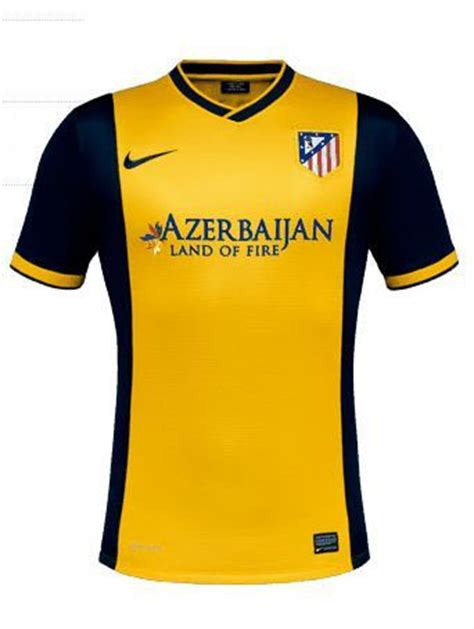 Jersey City Away Grade Ori Promo jersey atletico madrid away 2014 warna kuning dengan