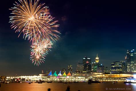 new year vancouver fireworks happy canada day cooling tomorrow still