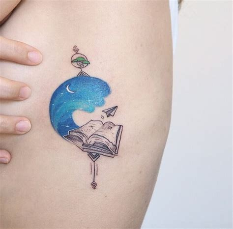 book tattoo designs 40 amazing book tattoos for literary tattooblend