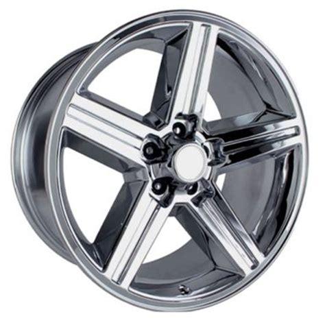2003 impala lug pattern 16x8 quot chrome chevy iroc z replica wheels rims 5x4 75 quot for