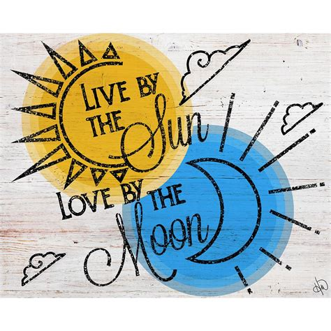 live by the sun love by the moon tattoo creative gallery 16 in x 20 in quot live by the sun by