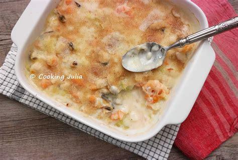 fruit de mer cooking gratin de fruits de mer