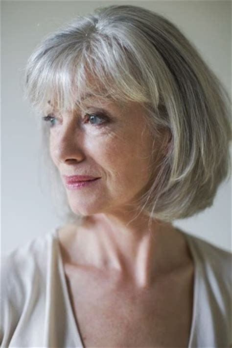 hairstyles for thin gray hair grey hair dos short haircuts for older women with thin