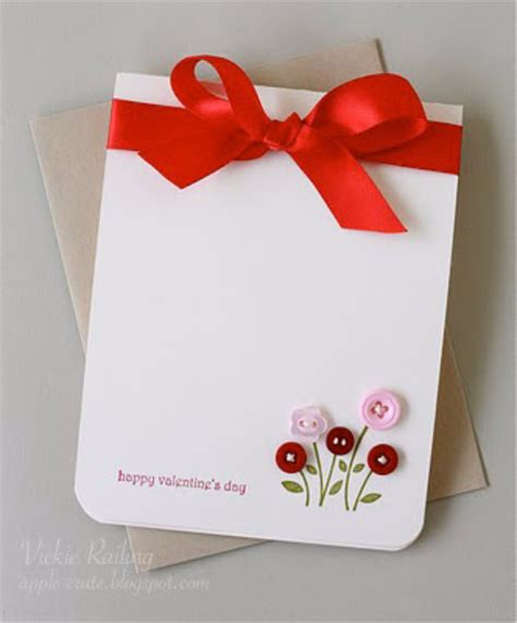 Easy Handmade Valentines - 50 thoughtful handmade valentines cards diy