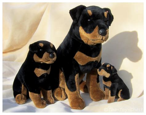 rottweiler toys douglas cuddle toys 1990s rottweiler trio by the chest on deviantart
