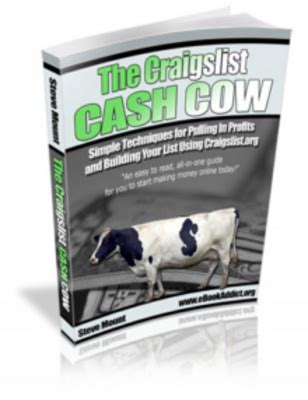 that pay the table on craigslist craiglist cow more traffic to your website