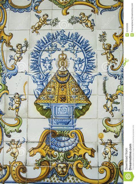 imagenes virgen de guadalupe ceramica cer 225 mica de talavera tejas virgen del prado stock de