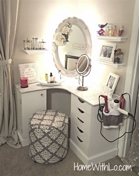 diy makeup vanity desk 20 beautiful diy makeup vanity diys to do