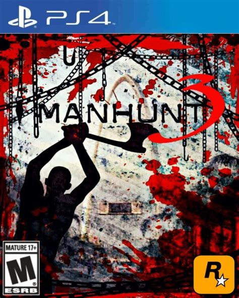 Home Design Games For Xbox 360 Manhunt 3 Playstation 4 Box Art Cover By Alxlopz1999