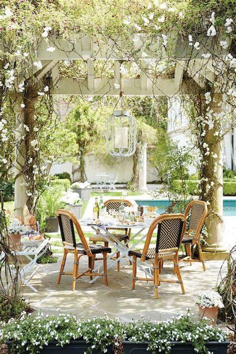 Ballard Designs Christmas garden with pergola design ideas