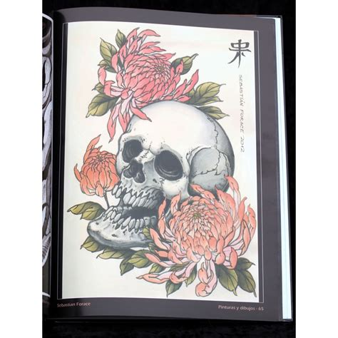 libro inward libro calavers skulls