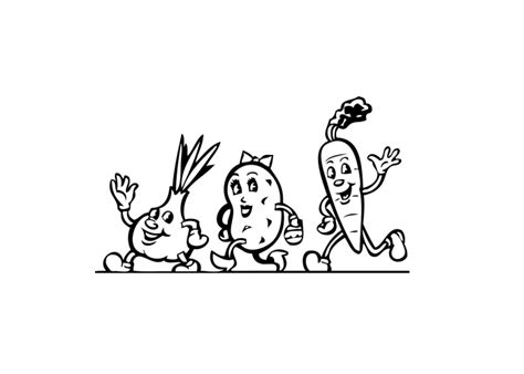 coloring pages of cartoon food cute food colouring pages
