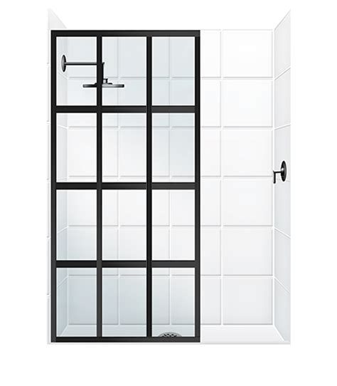 Frosted Interior Doors Home Depot by Fixed Panel With Or Without Slider Coastal Shower Doors