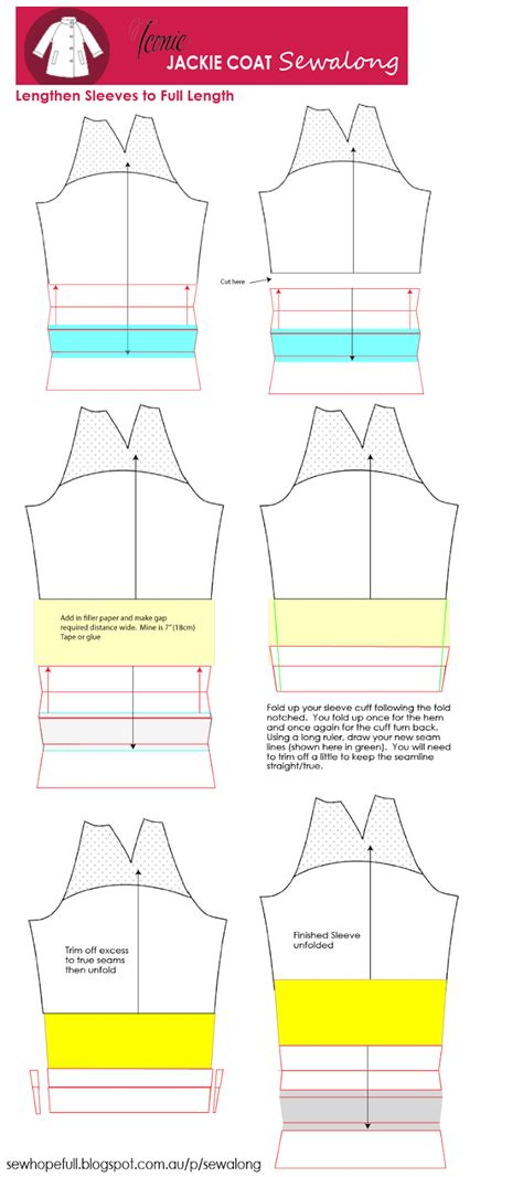 pattern hacker download jackie coat sewalong pattern hack lengthening the