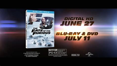 the fate of the furious extended version digital release the fate of the furious blu ray official 174 trailer hd