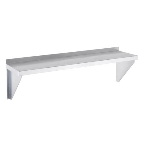 channel aws1236 36 aluminum solid wall shelf 12
