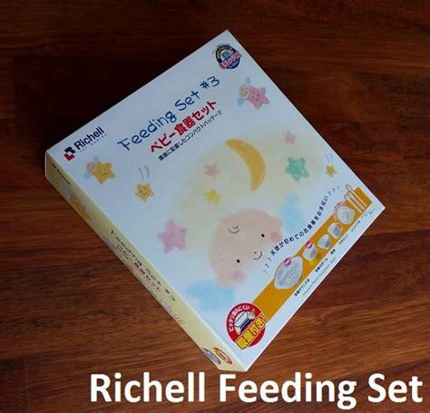 Q2 Set Peralatan Makan Bayi Richell Baby Fo Kode E6042 1 richell feeding set peralatan makan bayi lengkap