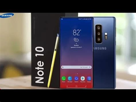 samsung galaxy note 10 official galaxy sx note concept 2019