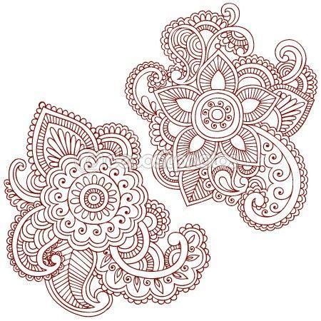 Henna Design Vorlagen 40 Coole Fu 223 Vorlagen