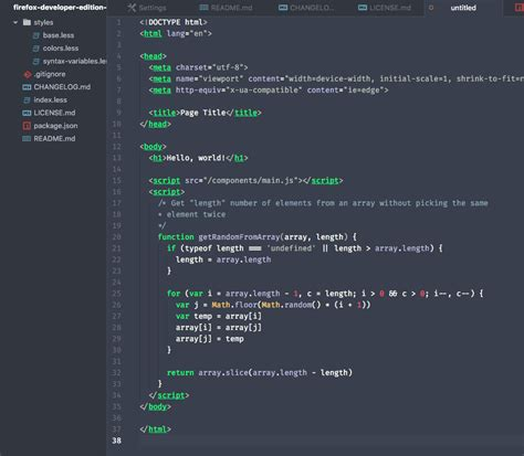 themes firefox developer edition firefox developer edition syntax