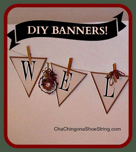 printable banner welcome the dollar store diva welcome banner with free printables