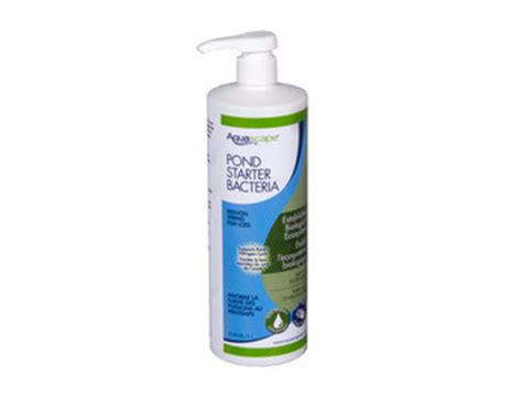 aquascape pond products aquascape pond starter bacteria liquid 1 ltr 33 8 oz