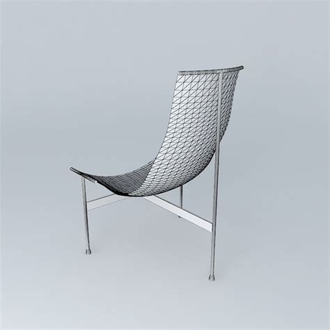 3d printed chair zaha zaha chair 3d model max obj 3ds fbx stl dae cgtrader