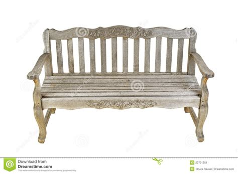 antique wooden bench vintage wooden bench stock image image 20731951