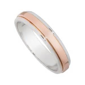 Wedding Gift Argos 9ct Rose Gold And White Gold 4mm Flat Wedding Ring Jewellery Weddings Fraser Hart Jewellers