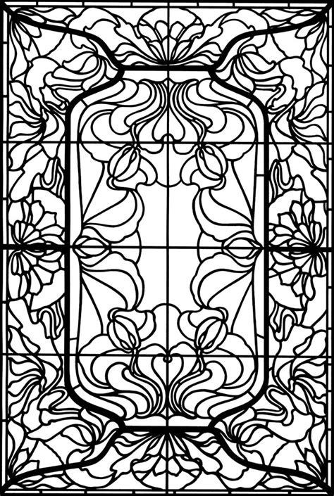 coloring book for windows welcome to dover publications