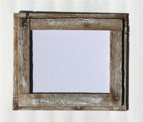 11x14 whitewashed crab trap wood picture frame rustic shabby chic home decor frames