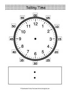 digital clock template printable telling time worksheets from the s guide