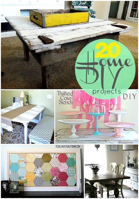dyi projects 20 home diy projects to make this fall
