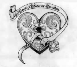 heart tattoo by mp3designs on deviantart