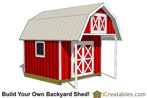 How To Build Gambrel Roof barn shed plans classic american gambrel diy barn designs
