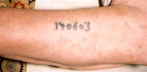 holocaust tattoos holocaust numbers