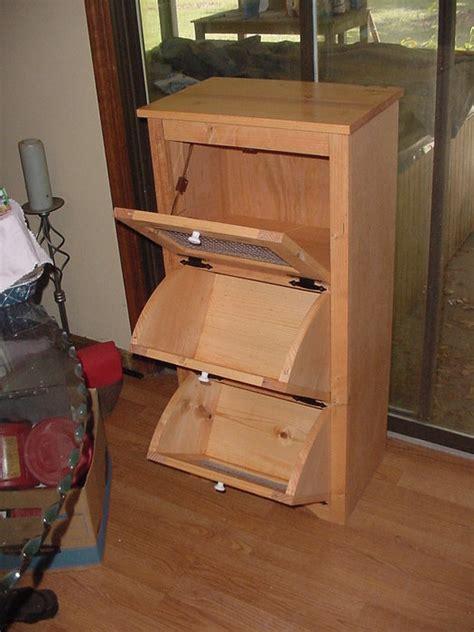 Pie Keeper Cabinet Potato Bin Woodworking Planswoodworker Plans Woodworker