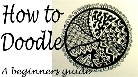 how to start a doodle doodling how to get started