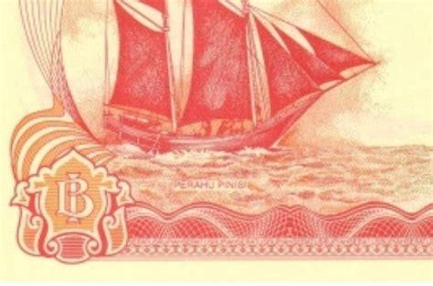 Uang Kuno Kapal Pinisi misteri rp100 perahu layar uanglama