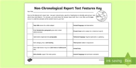chronological biography definition ks2 non chronological reports primary resources page 1